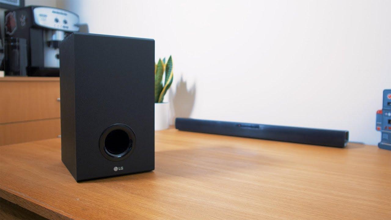 lg sj2 2.1 soundbar test